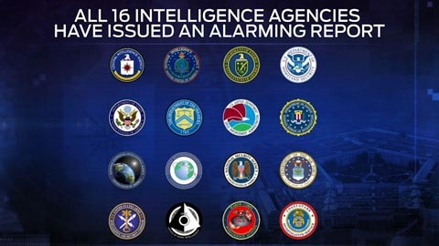 16 intelligence agencies