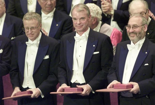 Nobelova cena - ekonomie - George A. AKERLOF, Michael SPENCE, Joseph E. STIGLITZ