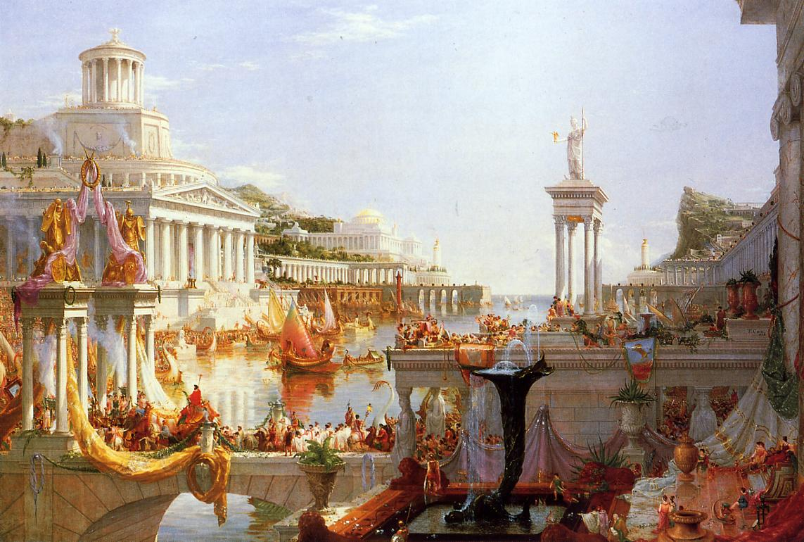 توماس کول نقاشی دوران امپراطوری